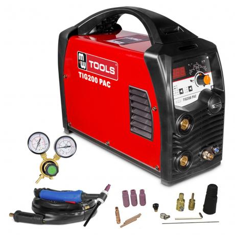 TIG  200PAC - AC/DC MetalWorks  Compleet 10L